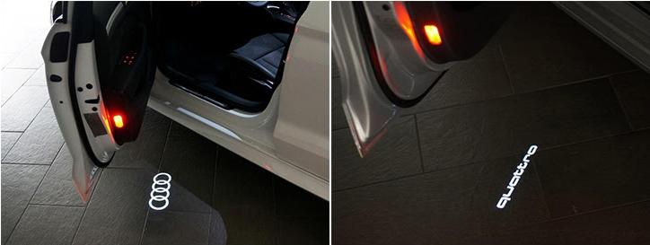 Audi Entry Lights