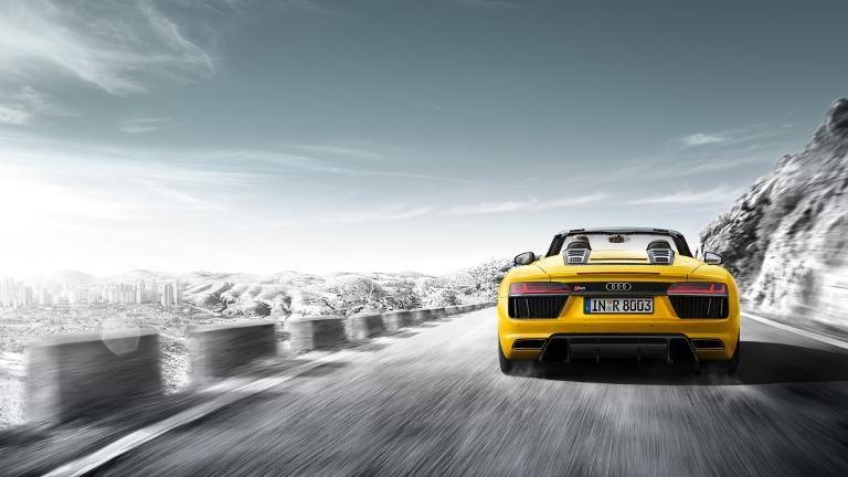 Audi R8 Spyder Spyder