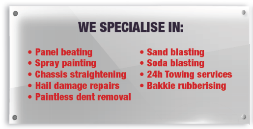 What we specialise on